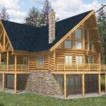 Homes Ranch Style Pic Fly Bedroom Log Home Plans