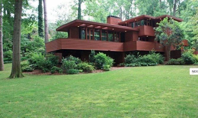 Homes Sale Collier Hills Frank Lloyd Wright Wrightian