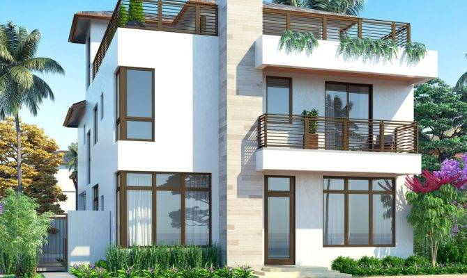 Homes Unveils Three Types Model Built