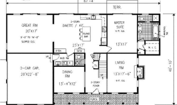 Honeycomb Colonial Country Home Plan House Plans More