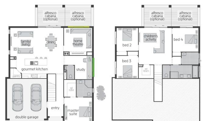 Horizon Act Floorplans Mcdonald Jones Homes