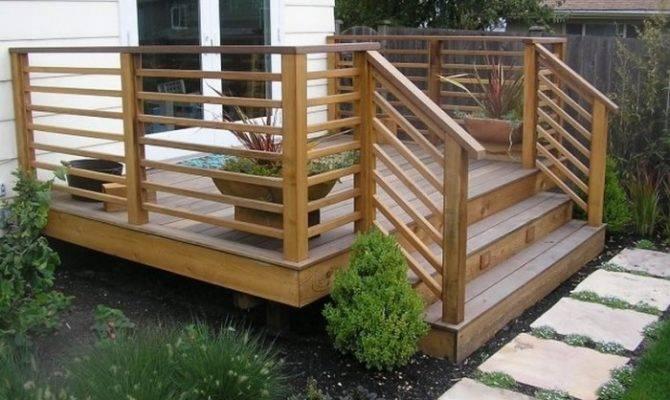Horizontal Deck Railing Advantages Disadvantages