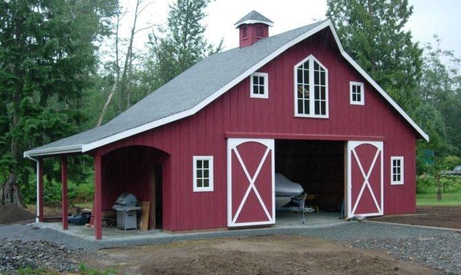 Horse Barns Barn Homes Cabins