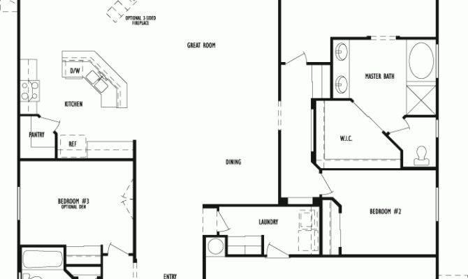 Horton Capri Floor Plan Arizona