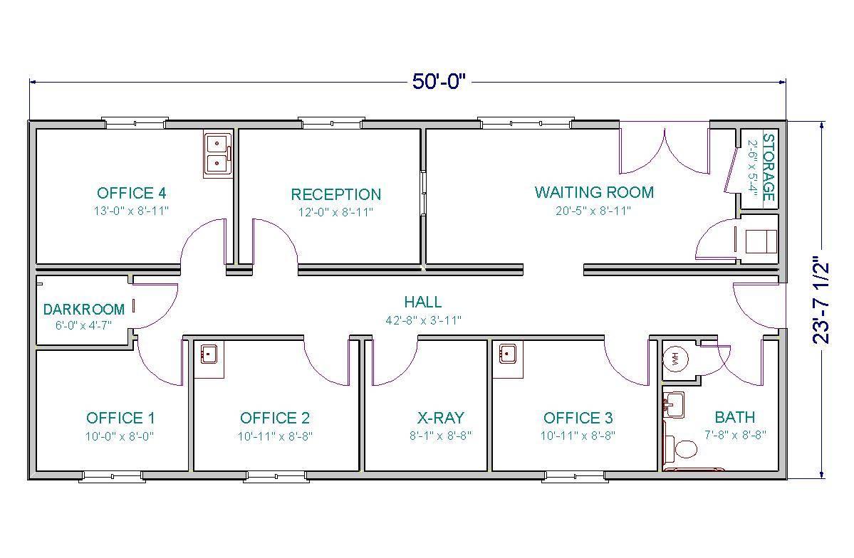 Hospital Floor Plan Medical Office Building Plans House Plans 67695