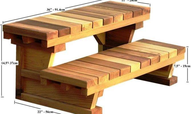 Hot Tub Stairs Plans Emerson Design