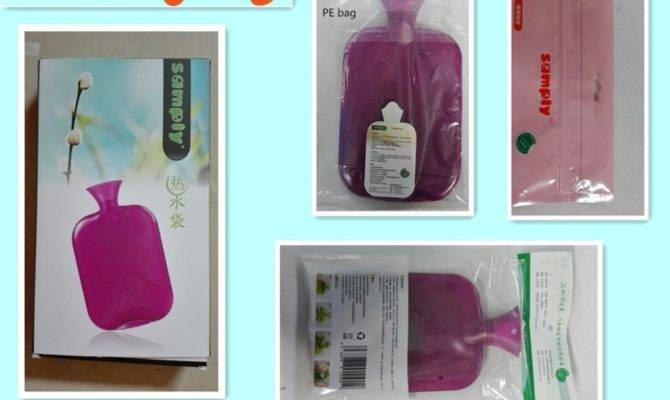 Hot Water Bottle Cover Pvc Rubber