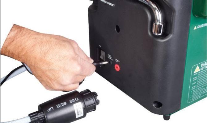 Hot Water Geyser Portable Heater Shower