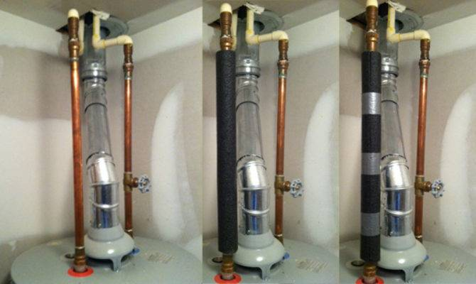 Hot Water Pipe Insulation Daves World Home