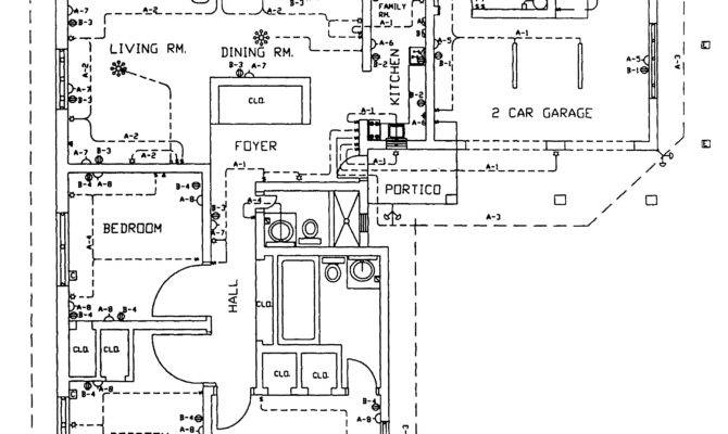 Hotel Plan Electrical Layout Autocad Drawing