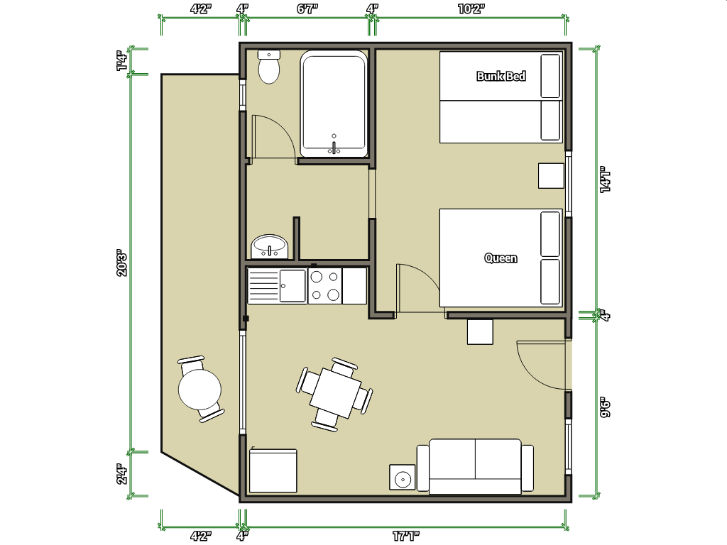Hotel Room Floor Plans Plan Collection