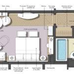 Hotel Suite Room Layout Best Junior Floor Plan