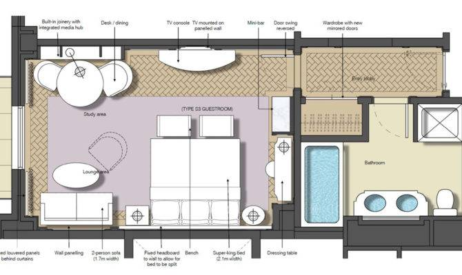 Hotel Suite Room Layout Best Junior Floor Plan