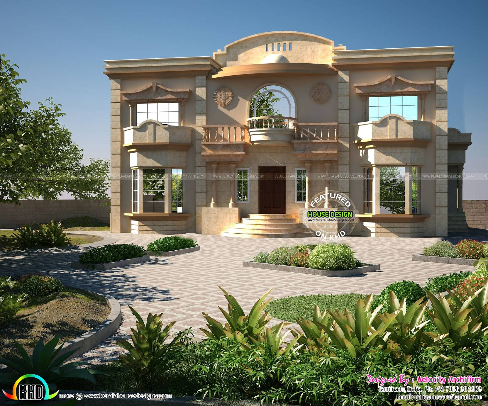 House Arabic Design Style Ideas Decorative House Plans 122058