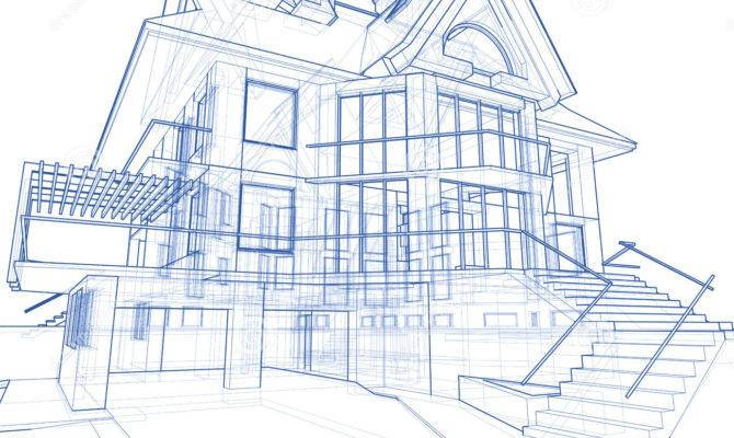 House Architecture Blueprint Castillo
