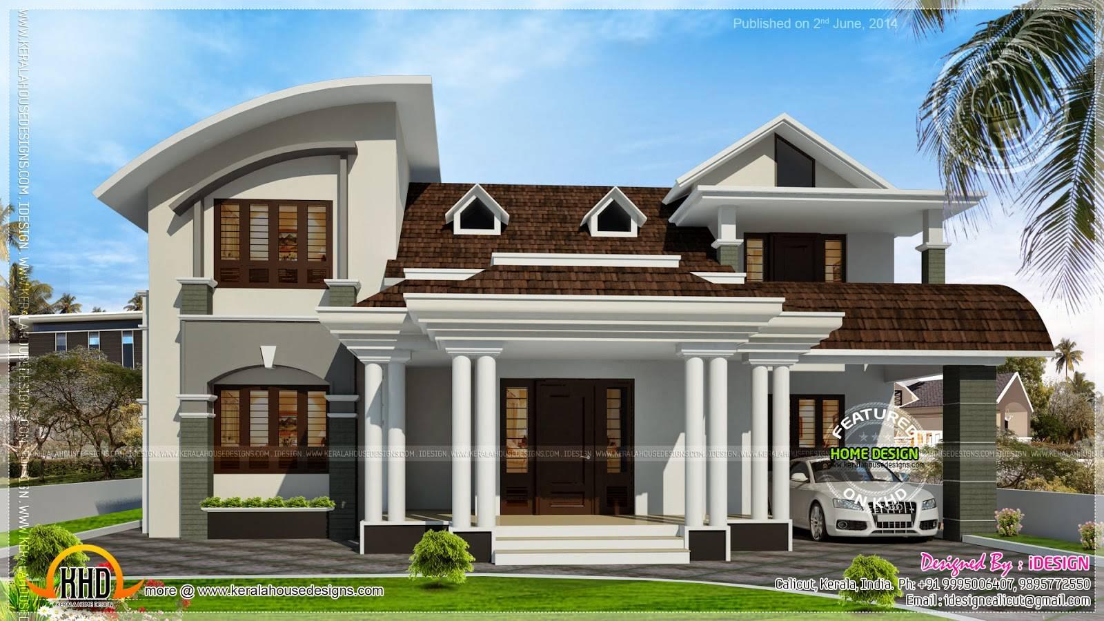 House Beautiful Dormer Windows Kerala Home Design Floor House Plans 37210