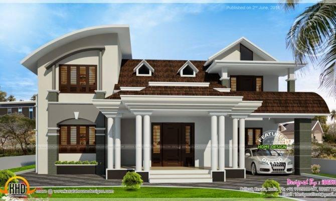 House Beautiful Dormer Windows Kerala Home Design