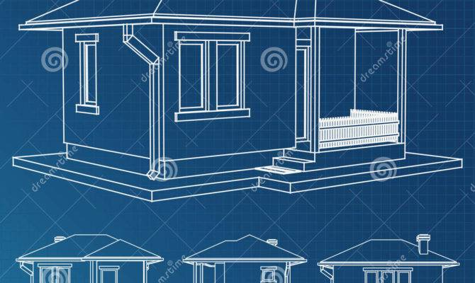 House Blueprint Vector Project