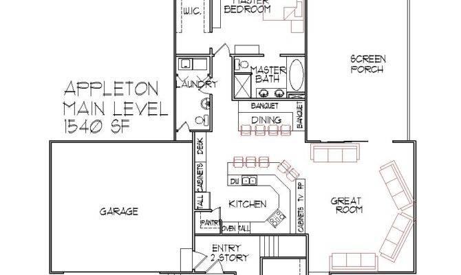 House Blueprints Houses Bedroom Home Floor Plans Level Design
