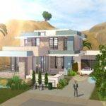 House Blueprints Sims Plans Modern