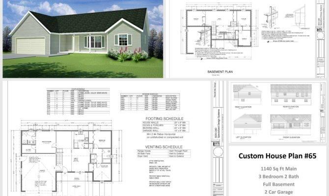 House Cabin Plans Plan Custom Home Design Dwg Pdf