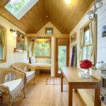 House Cathedral Ceiling Makes Tiny Home Feel Quite Spacious