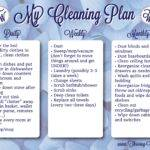 House Cleaning Weekly Plan
