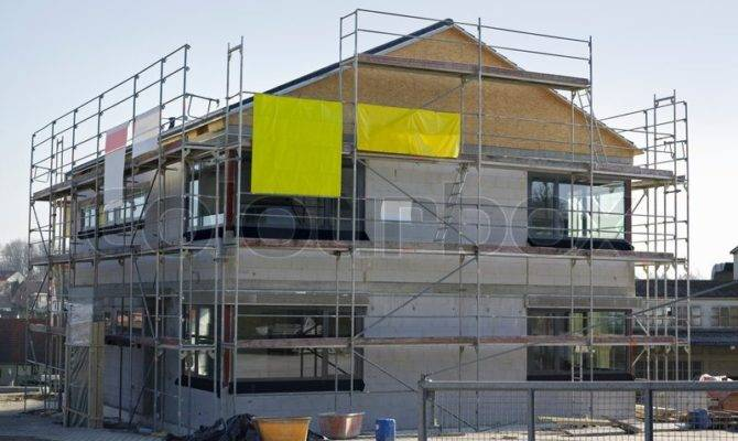 House Construction Southern Germany Sunny Ambiance