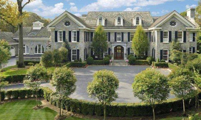 House Day Massive Stone Mansion Connecticut Sale