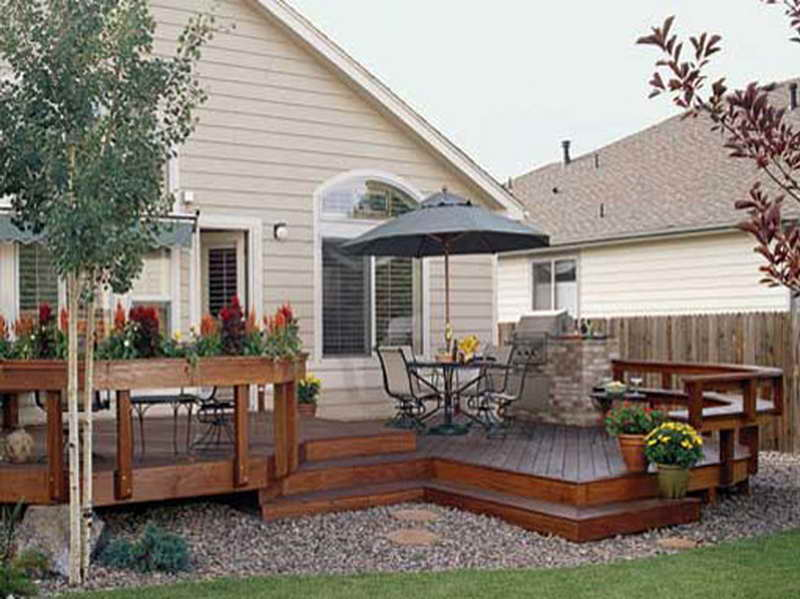 House Deck Plans Find Right Umbrella