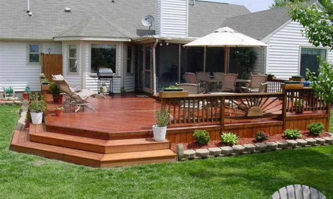 House Deck Plans Simple Design Find Right
