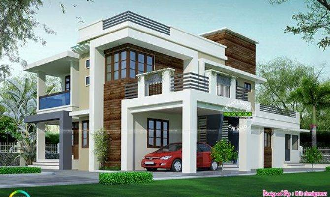 House Design Contemporary Model Kerala Home