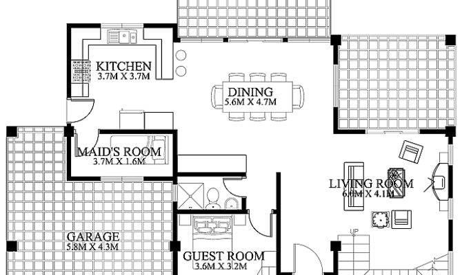 House Design Ground Floor Pinoy Eplans Modern