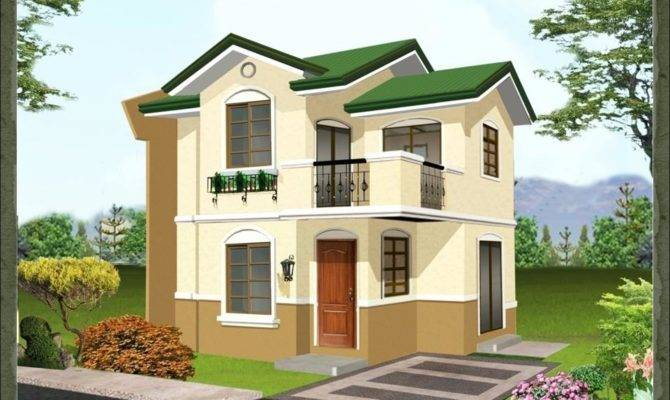 20 Pictures Simple 2 Storey House Designs House Plans