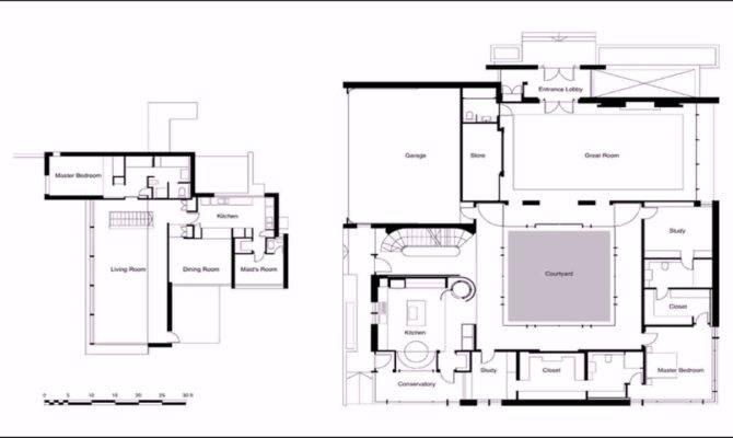 House Design Inner Courtyard Youtube