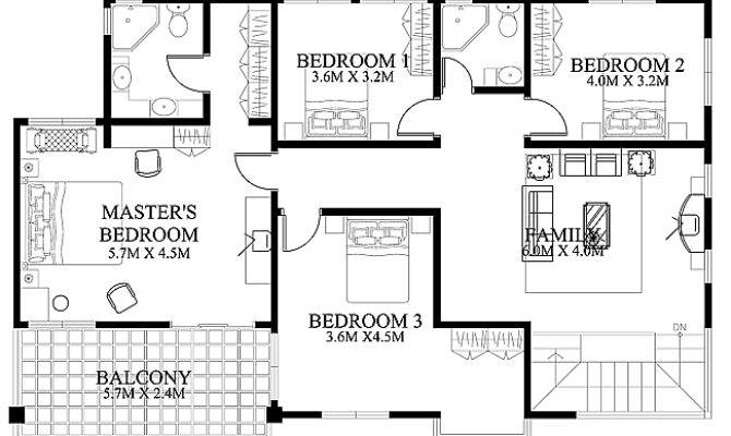 House Design Pinoy Eplans Modern Designs Small House Plans 76859