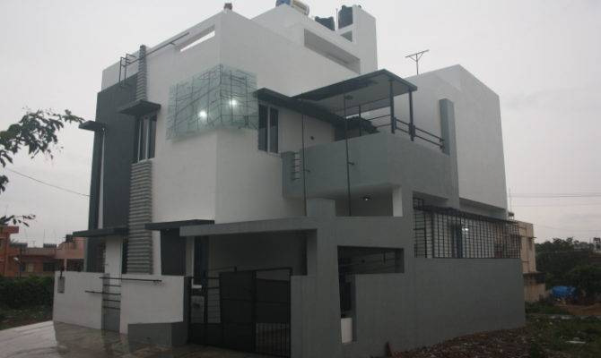 House Designs Bangalore Front Elevation Ashwin