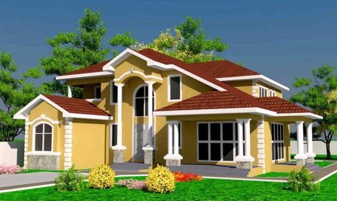 House Designs Floor Plans Ghana Youtube