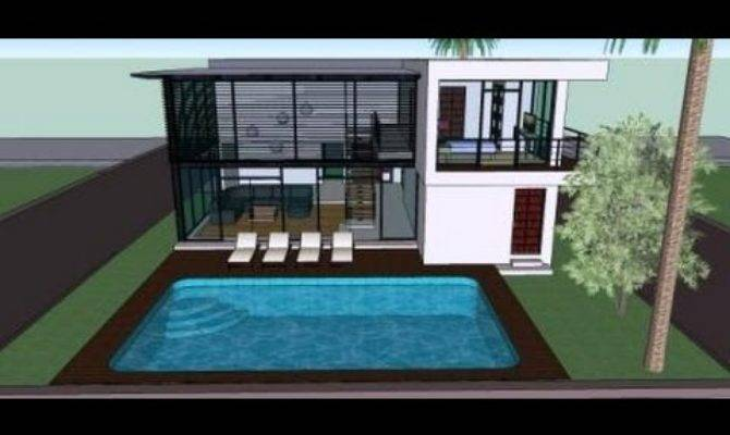 House Designs Moreover Pool Well