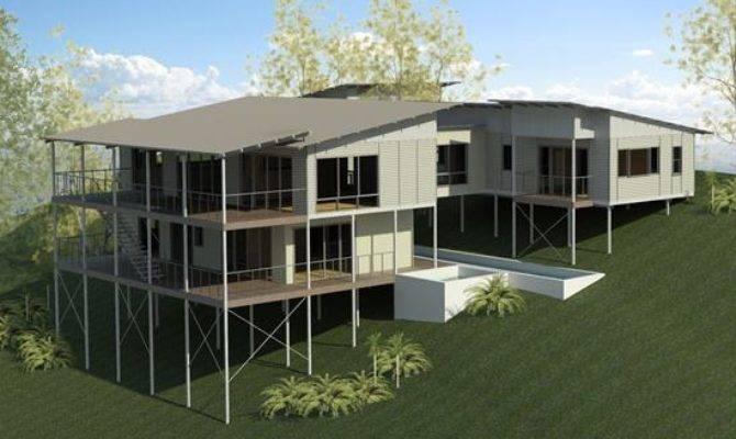 House Designs Very Steep Blocks Home Design Style