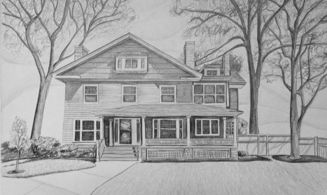 House Drawings Art Yoga Mas