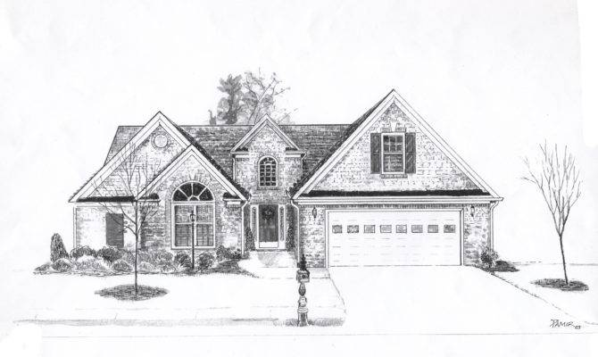 House Drawings Style