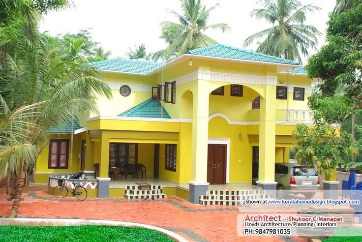 House Elevation Kerala Casa Pinterest