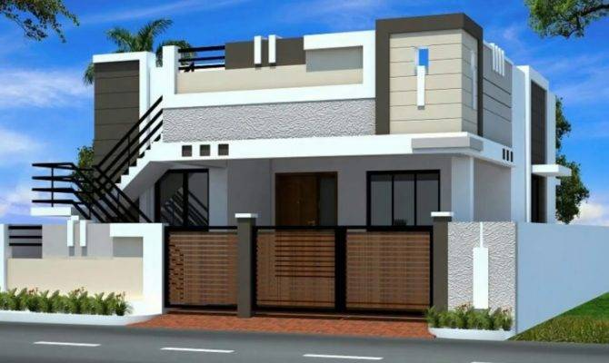House Elevations India Style Plans