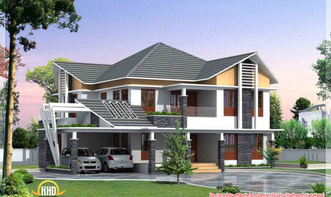 House Elevations Kerala Home Design Beautiful