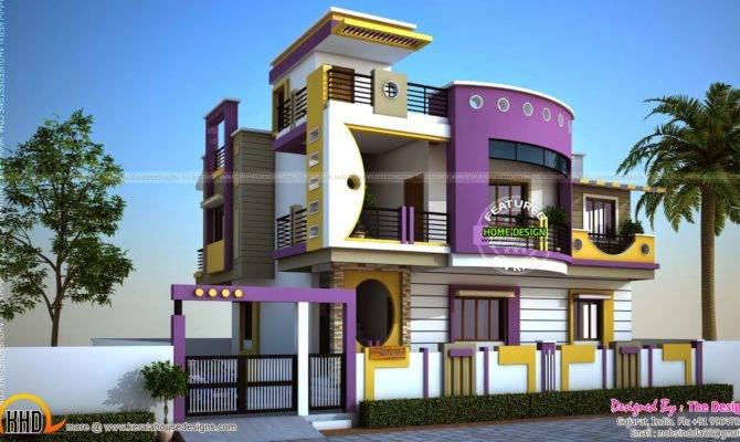 House Exterior Designs Contemporary Style Kerala Home