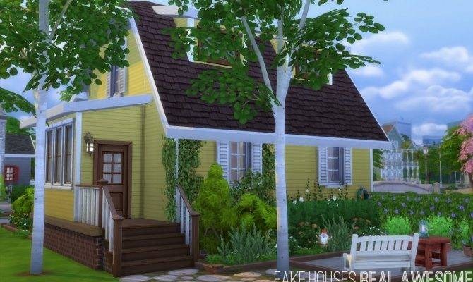 House Fake Houses Real Awesome Sims Updates House Plans 45267