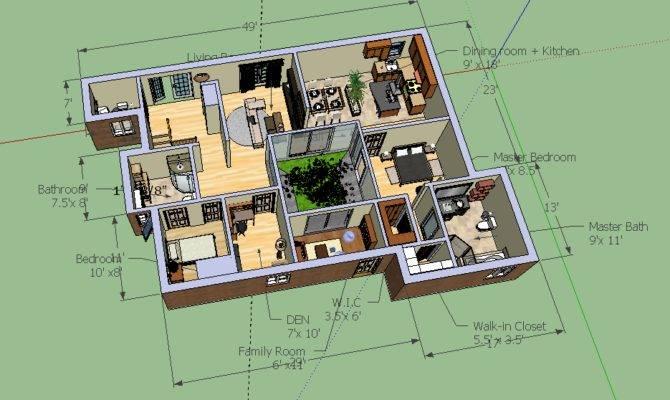 House Floor Plan Google Sketchup Inspirational