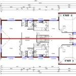 House Floor Plans Bedroom Bath Room Level Townhouse Plan