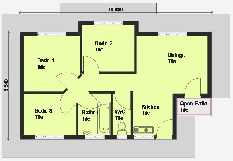 House Floor Plans South Africa